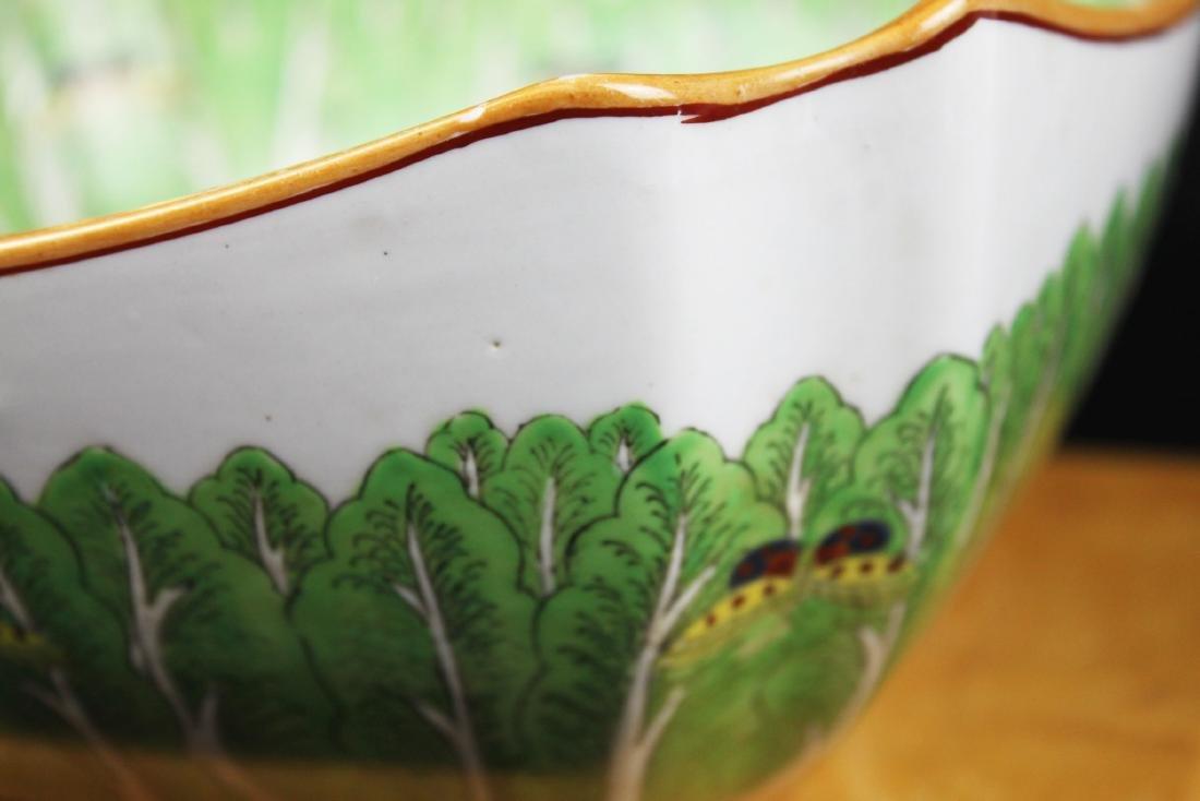 Antique Chinese Porcelain Bowl - 8