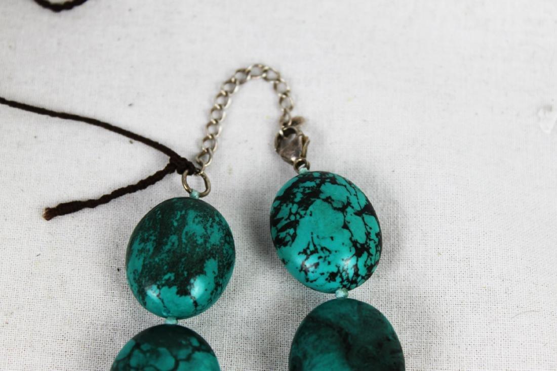 Turquoise Stone Necklace - 2