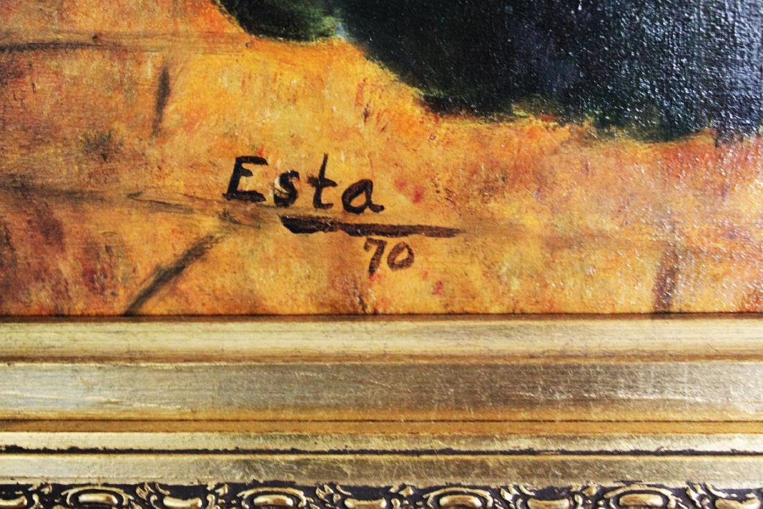 Antique Oil Painting - 10