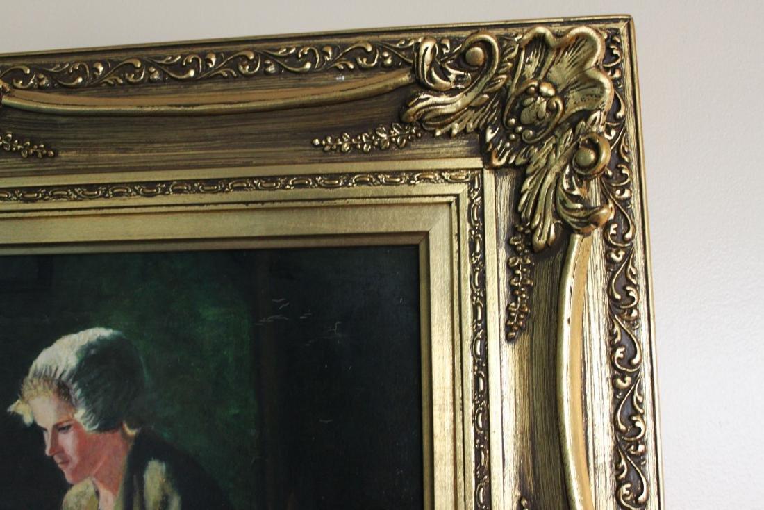 Antique Oil Painting - 3