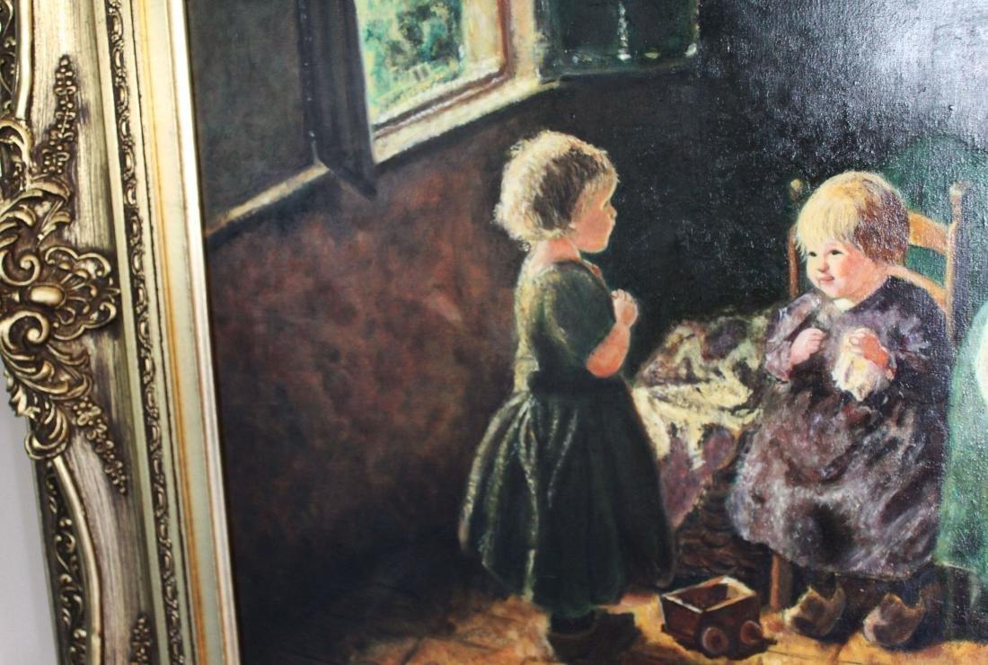 Antique Oil Painting - 4