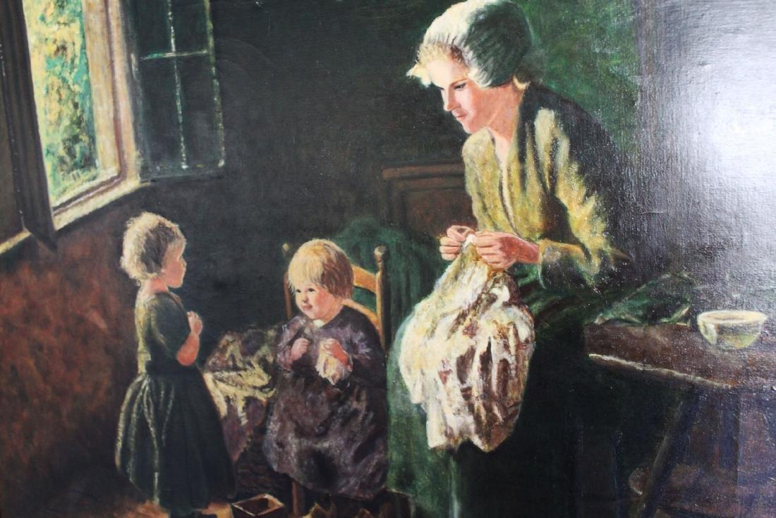 Antique Oil Painting - 5