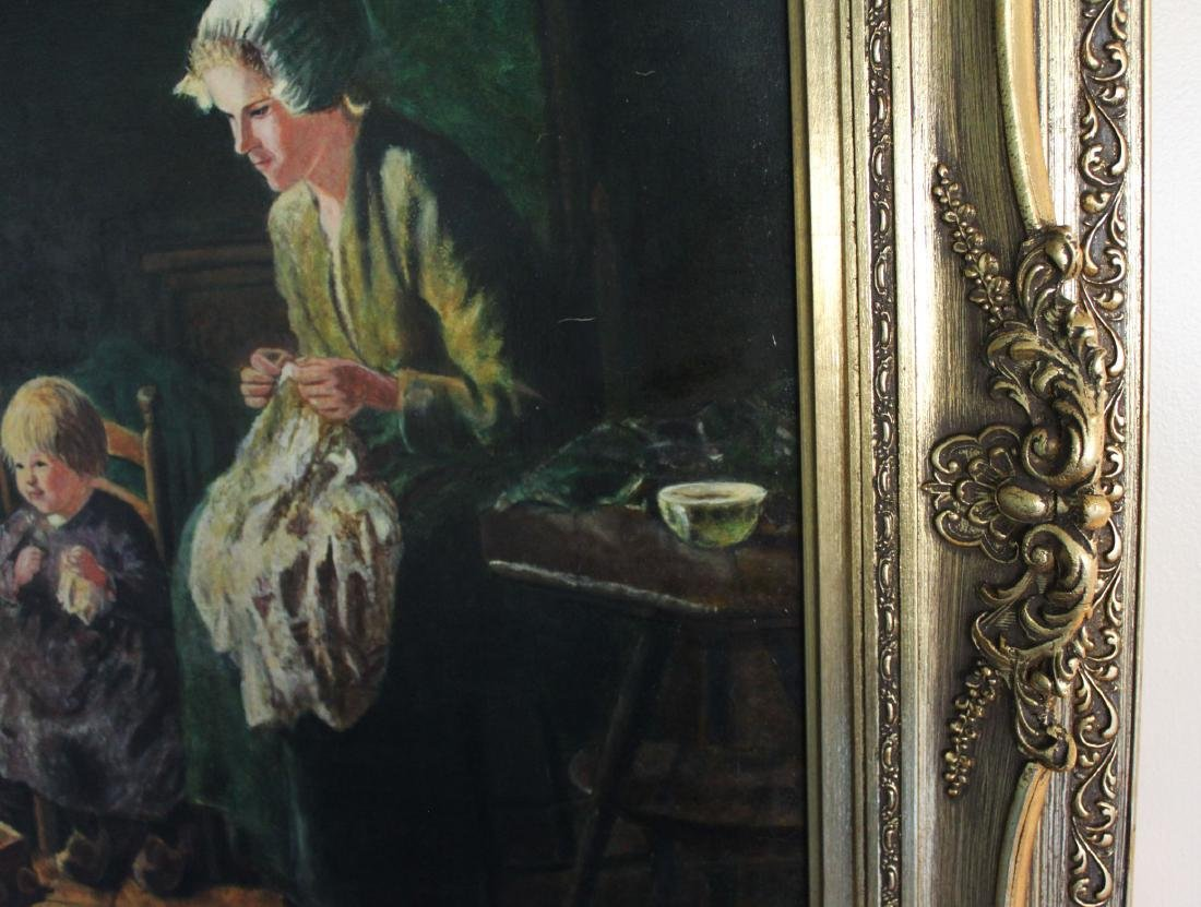 Antique Oil Painting - 6