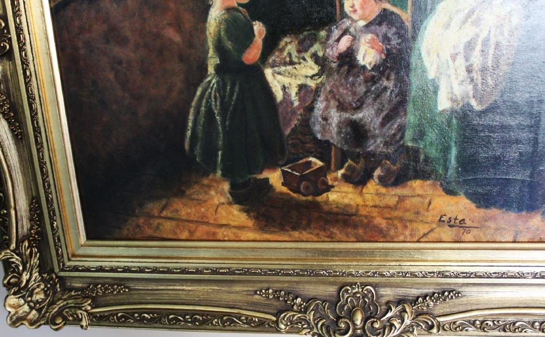 Antique Oil Painting - 7