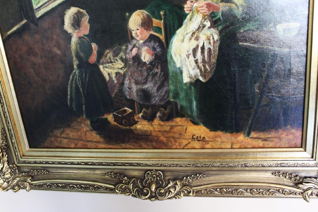 Antique Oil Painting - 8