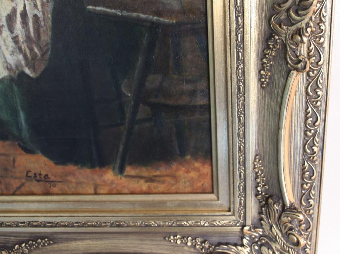 Antique Oil Painting - 9