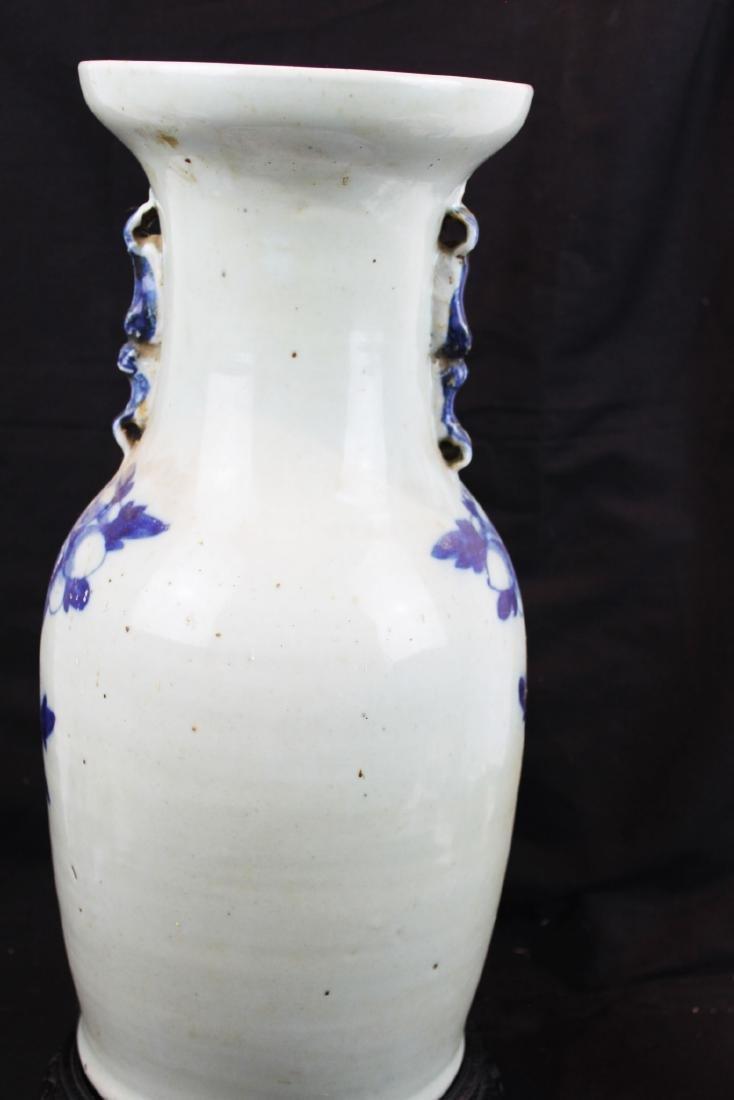 Antique Chinese Blue&White Porcelain Vase - 9