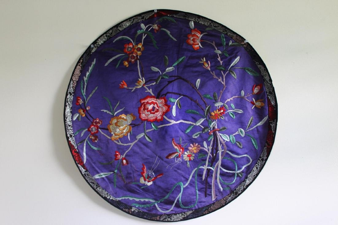 Antique Hand Made Chinese Silk