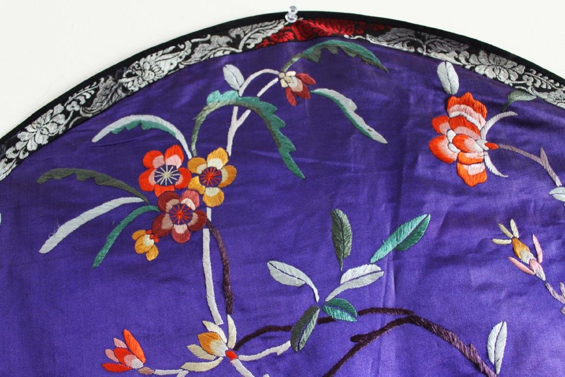 Antique Hand Made Chinese Silk - 2