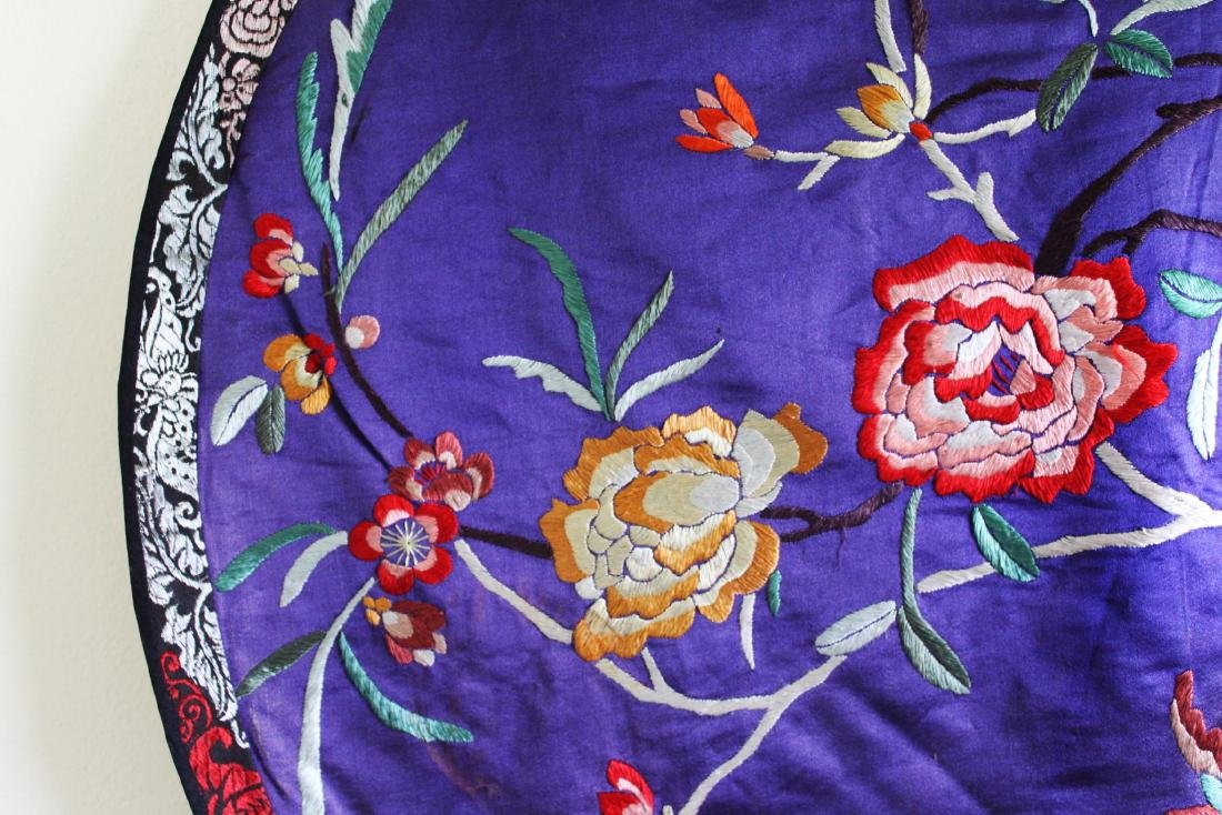 Antique Hand Made Chinese Silk - 3