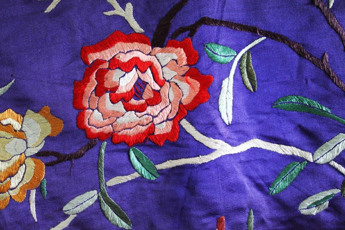 Antique Hand Made Chinese Silk - 4