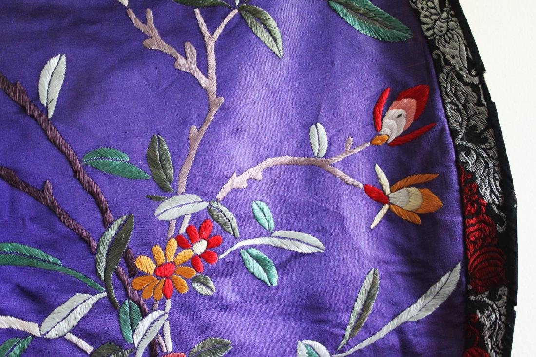 Antique Hand Made Chinese Silk - 5