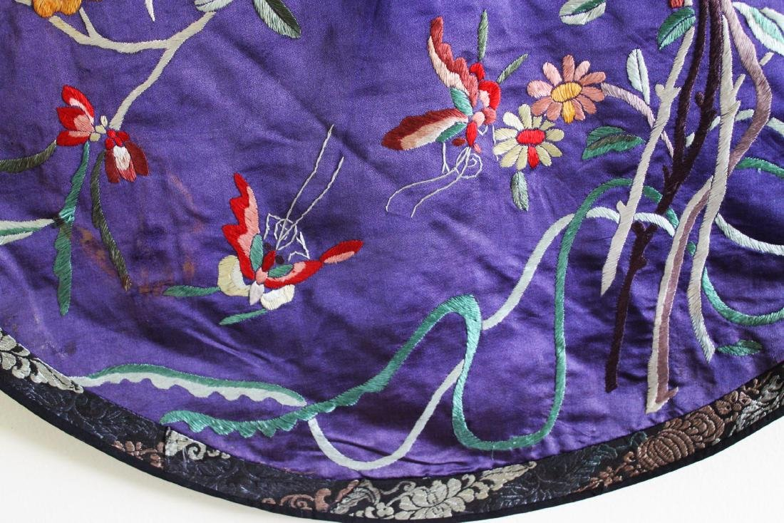 Antique Hand Made Chinese Silk - 7