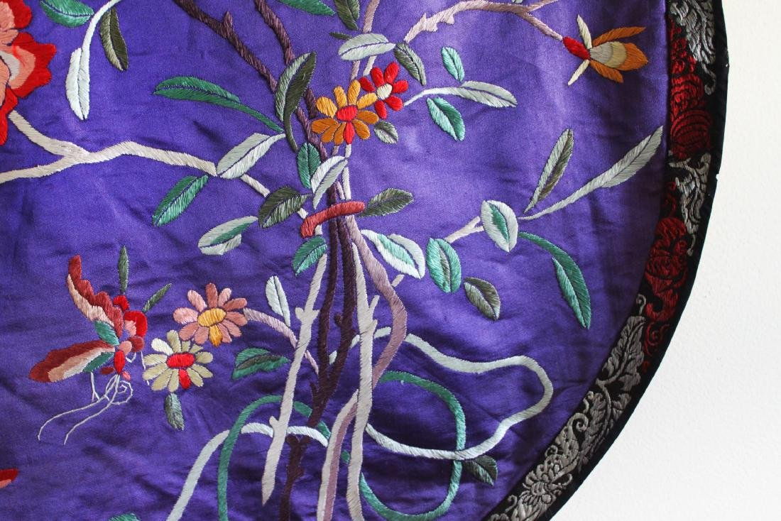 Antique Hand Made Chinese Silk - 8