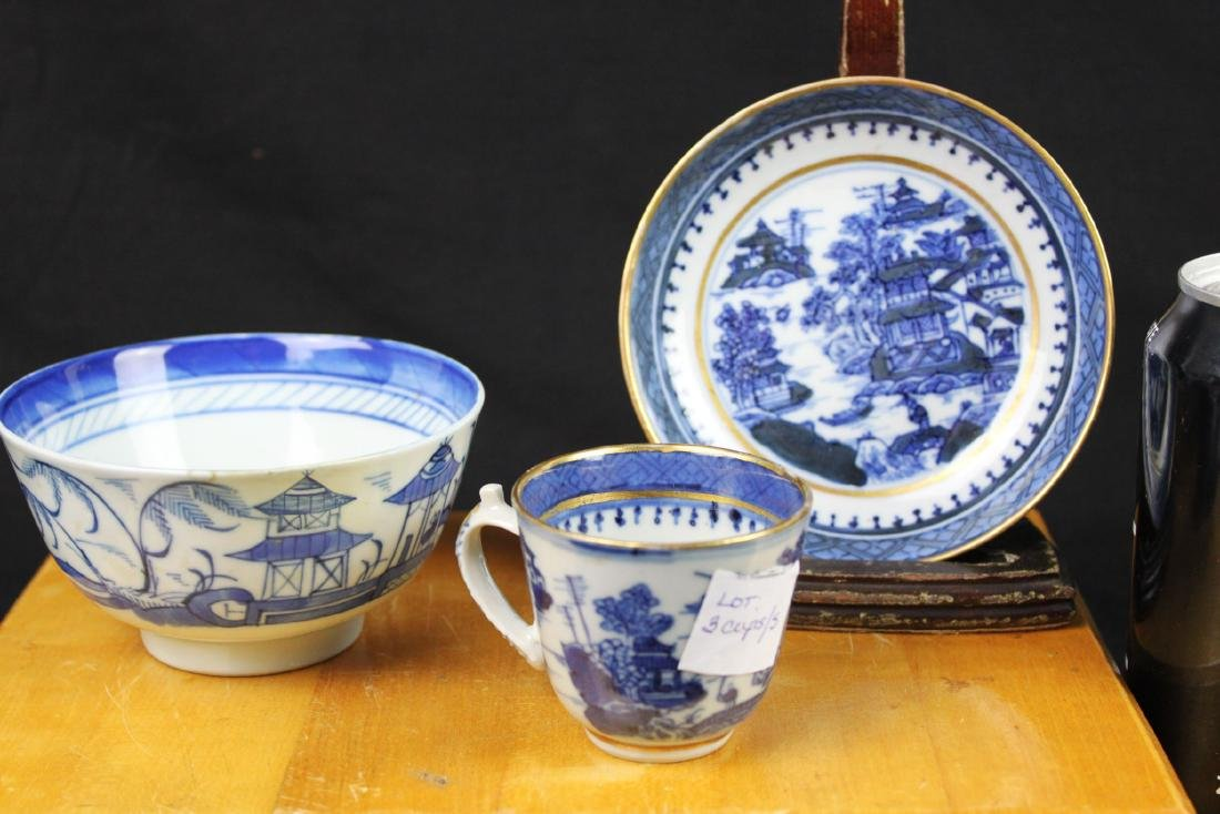 Chinese Blue&white Porcelain Set