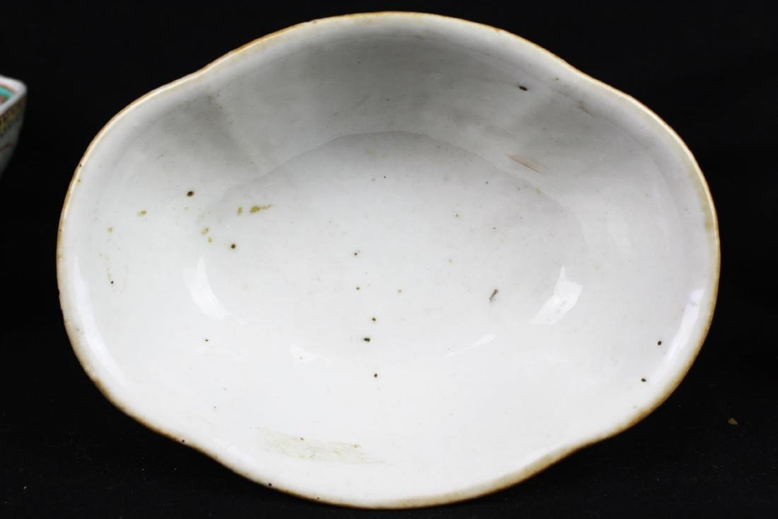 Three Antique Chinese Porcelain Plates - 3
