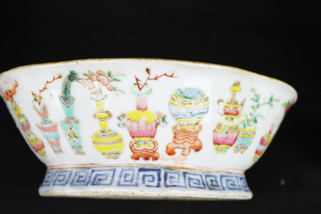 Three Antique Chinese Porcelain Plates - 5