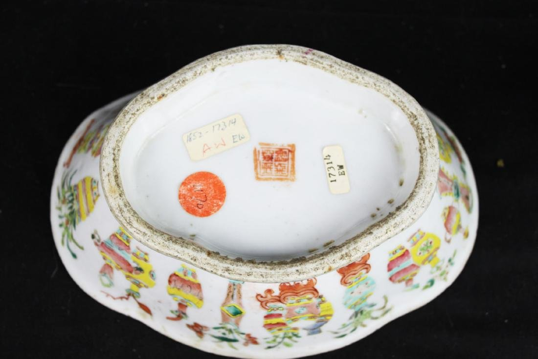 Three Antique Chinese Porcelain Plates - 6