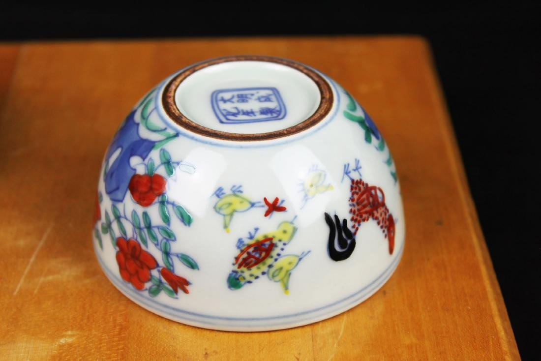 Antique Chinese Porcelain Bowl - 4