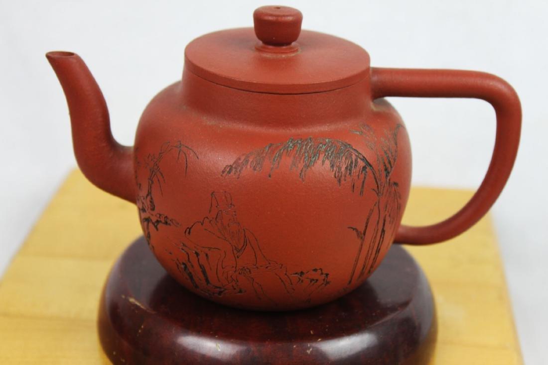 Chinese Yixing Zisha Tea Pot - 5