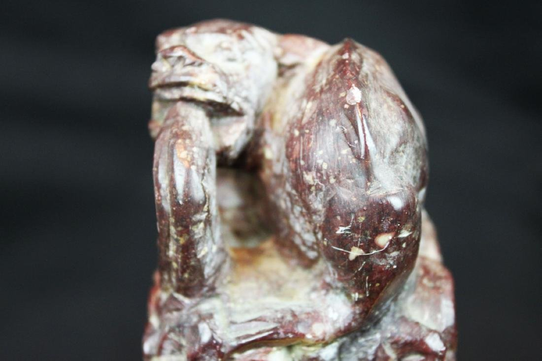 Two Chinese Hand Carved Stone Seal - 6