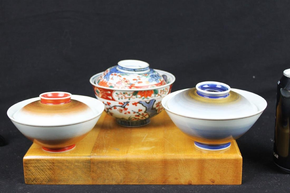 Three Antique Chinese Porcelain Bowl