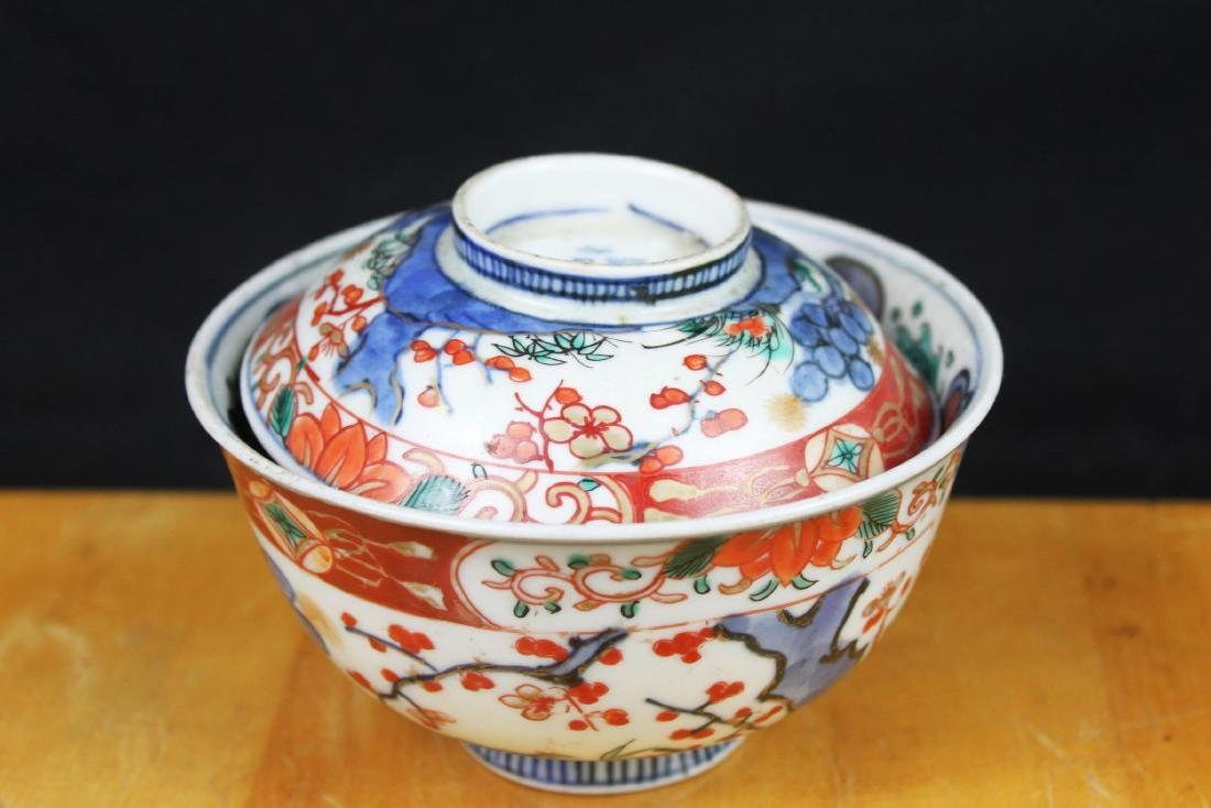 Three Antique Chinese Porcelain Bowl - 2