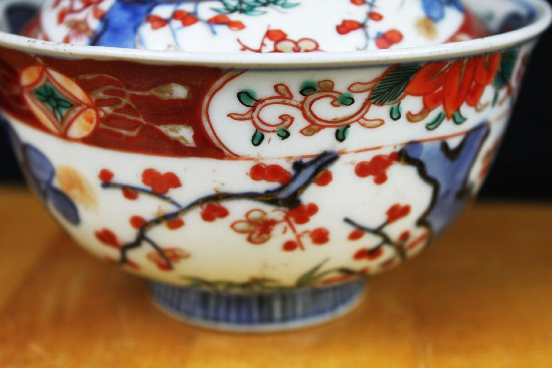 Three Antique Chinese Porcelain Bowl - 4