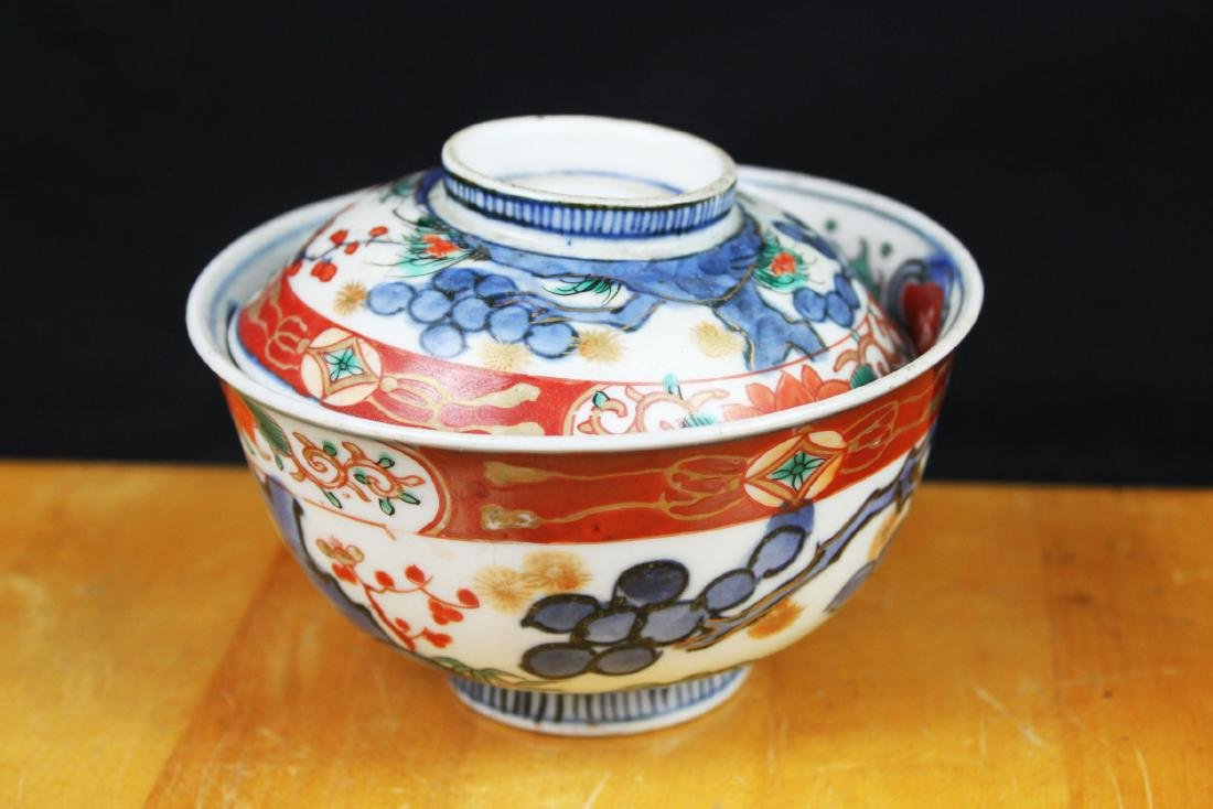 Three Antique Chinese Porcelain Bowl - 5