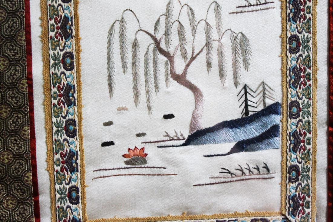 Antique Chinese Silk Painting - 4