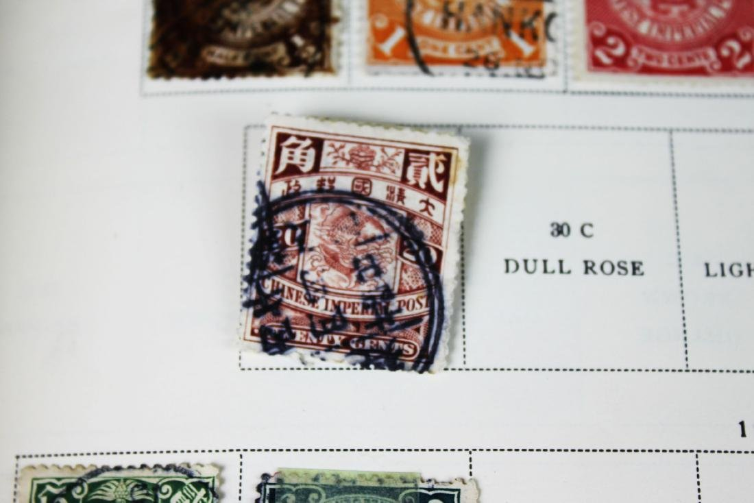 Antique Chinese Stamps from 1898s