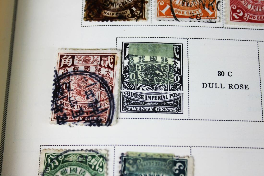Antique Chinese Stamps from 1898s - 2