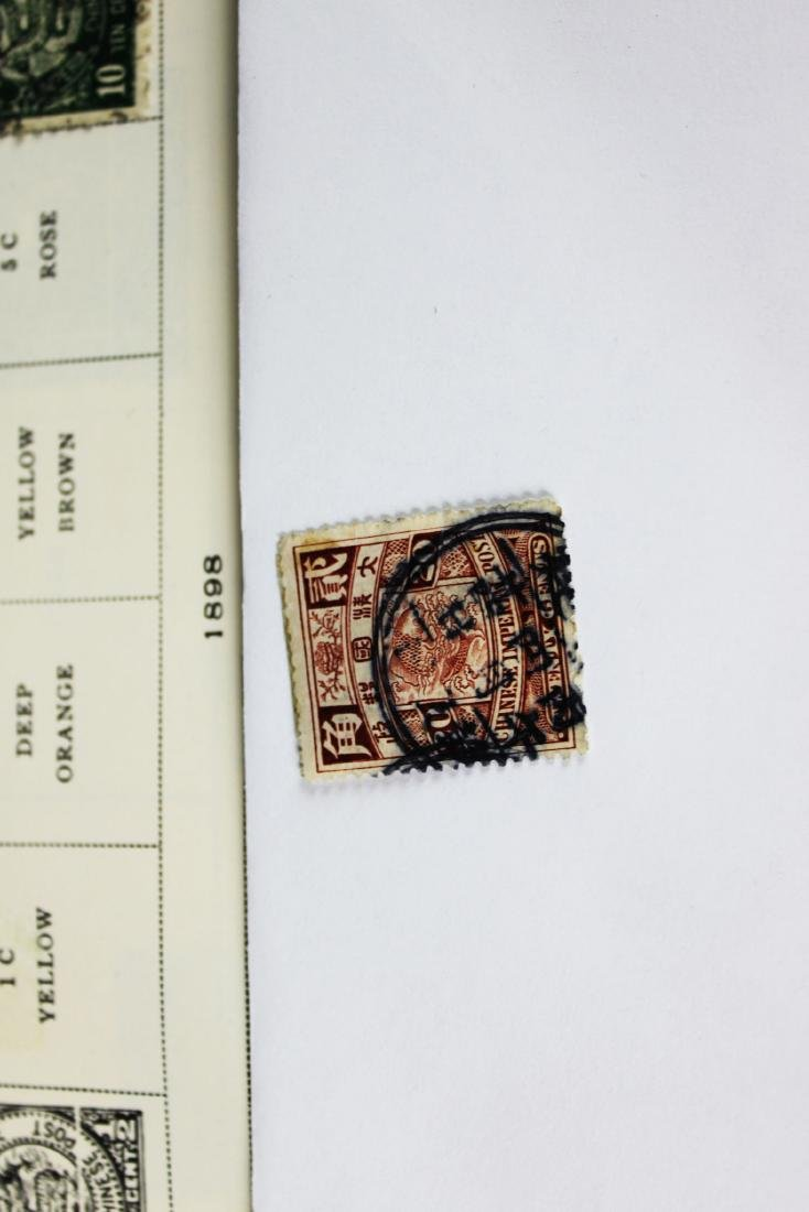 Antique Chinese Stamps from 1898s - 4