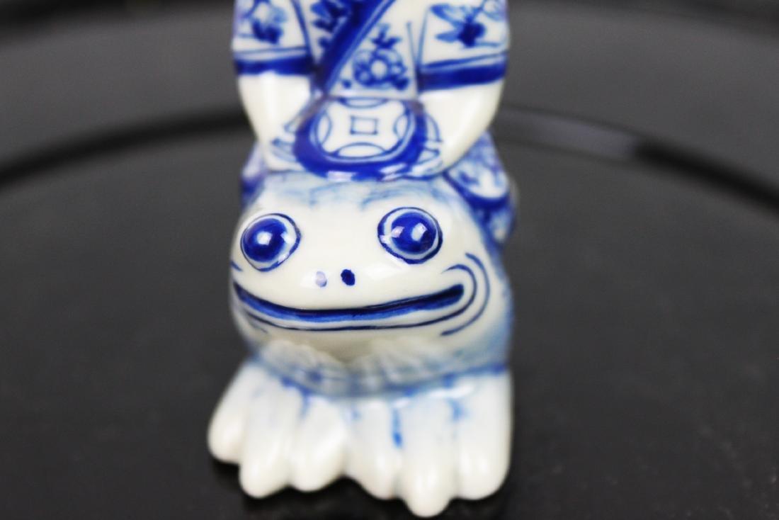 Blue&White Porcelain Snuff Bottle - 3