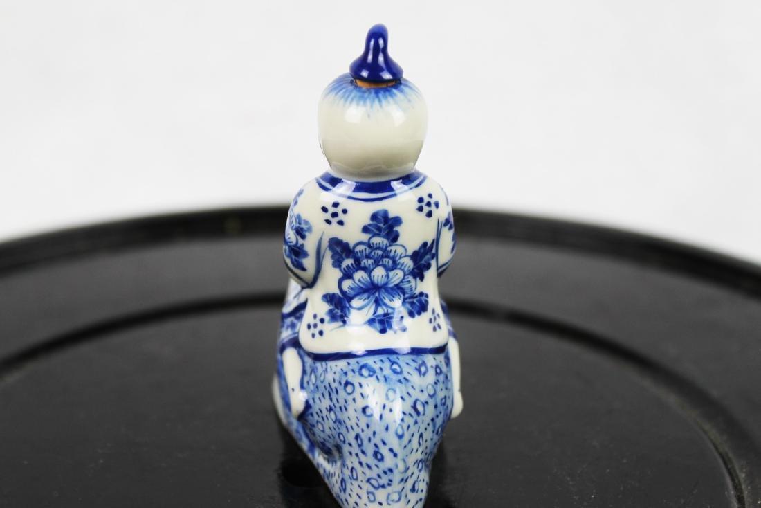 Blue&White Porcelain Snuff Bottle - 5