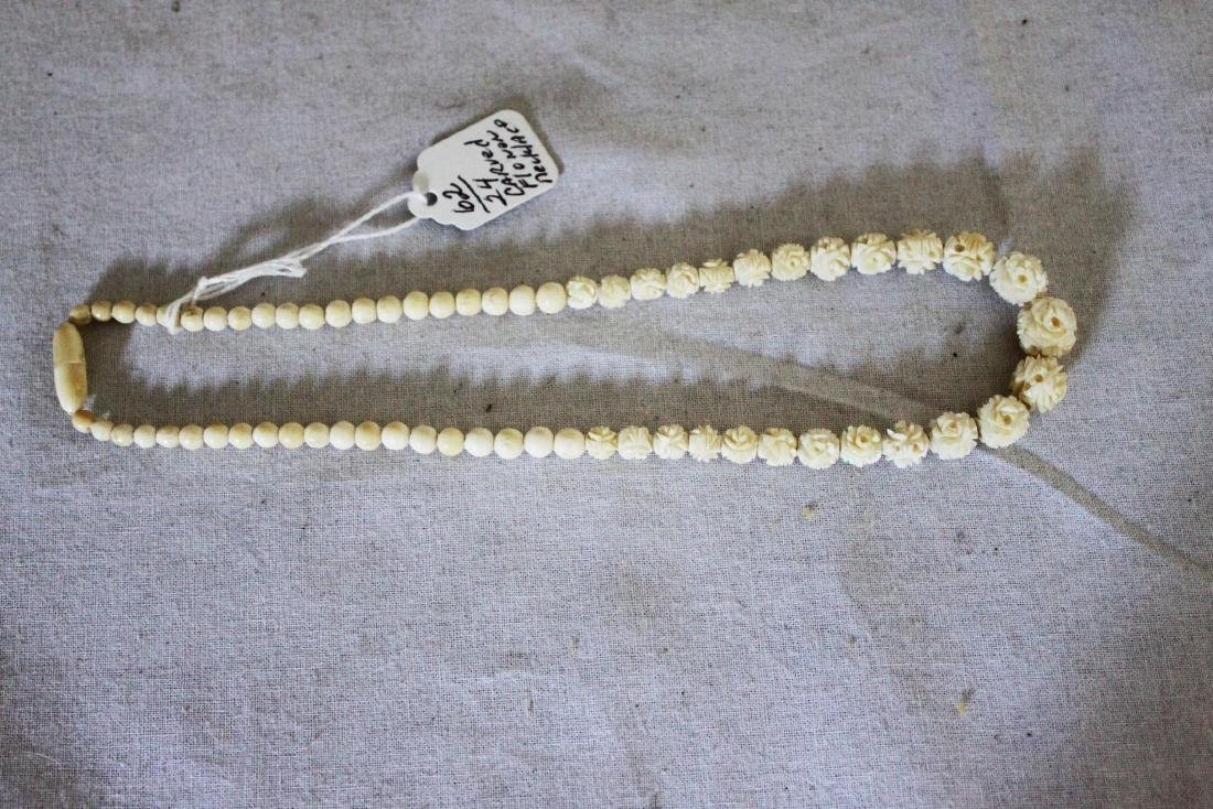 Hand Carved Necklace - 2