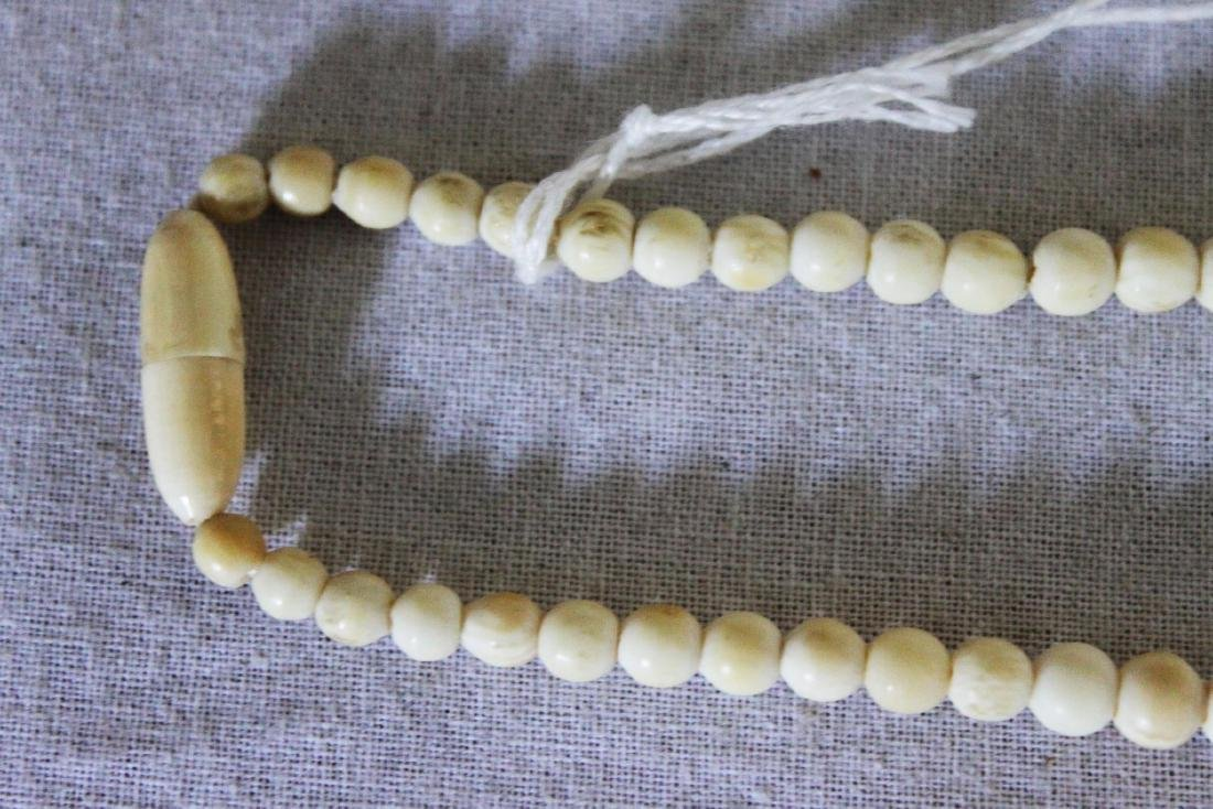 Hand Carved Necklace - 4