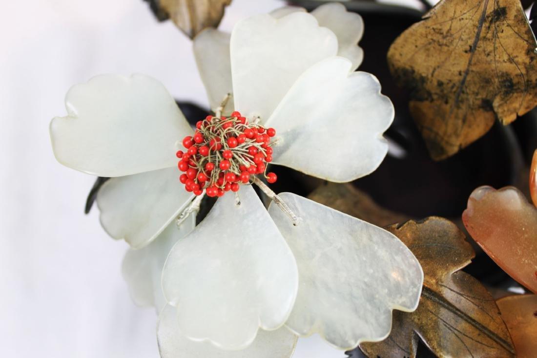 Antique Jade, Agate, Crystal Plants - 4