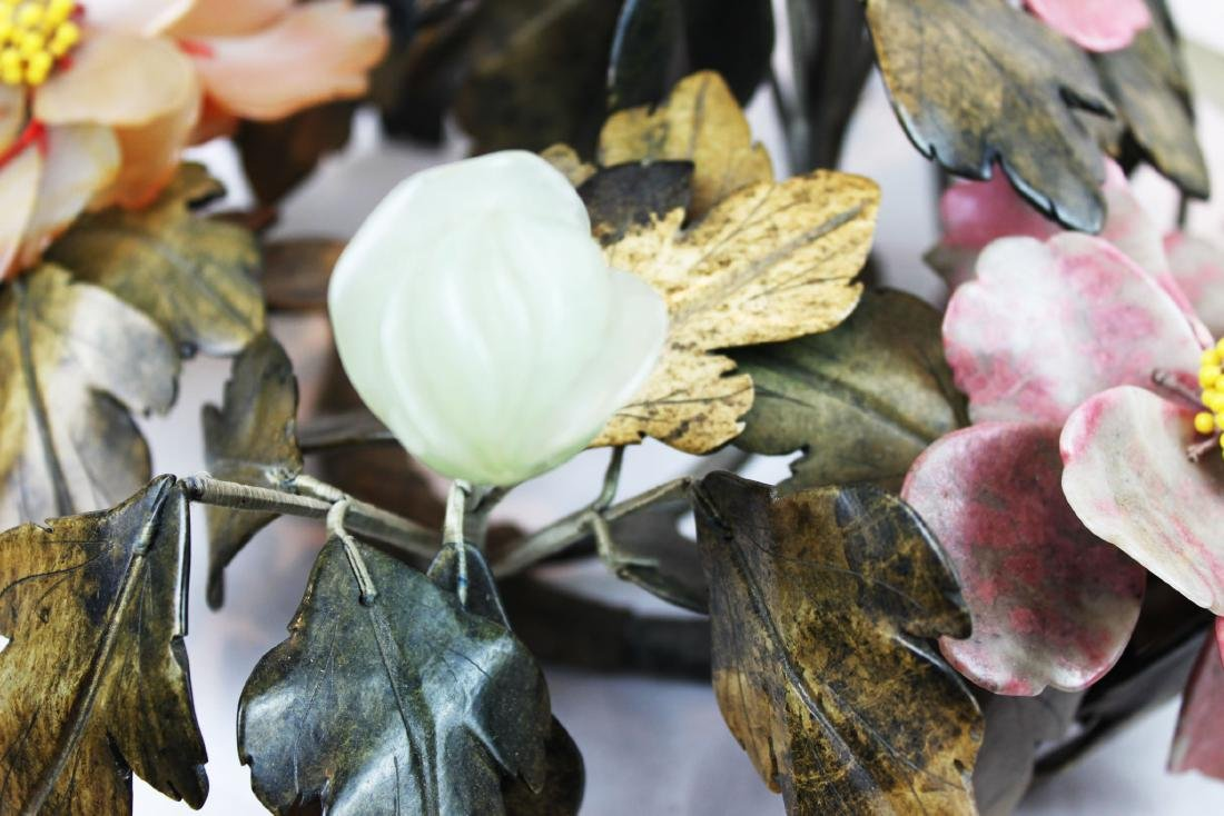 Antique Jade, Agate, Crystal Plants - 8