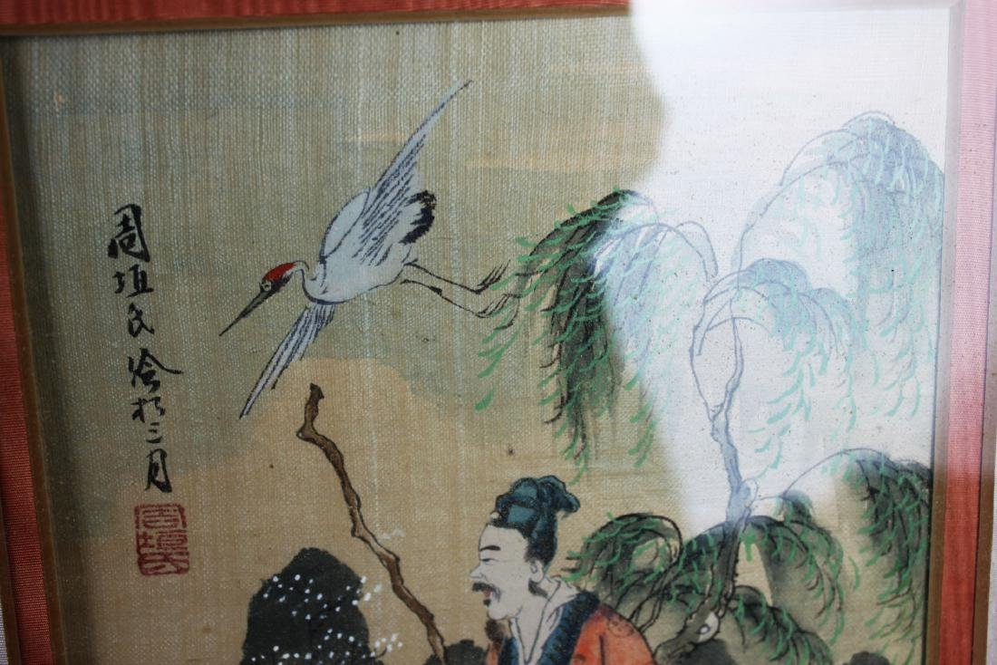 Antique Chinese Painting - 10