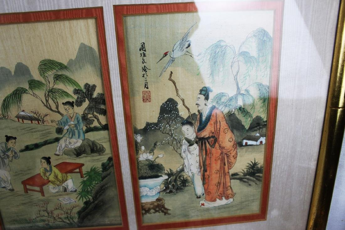 Antique Chinese Painting - 9