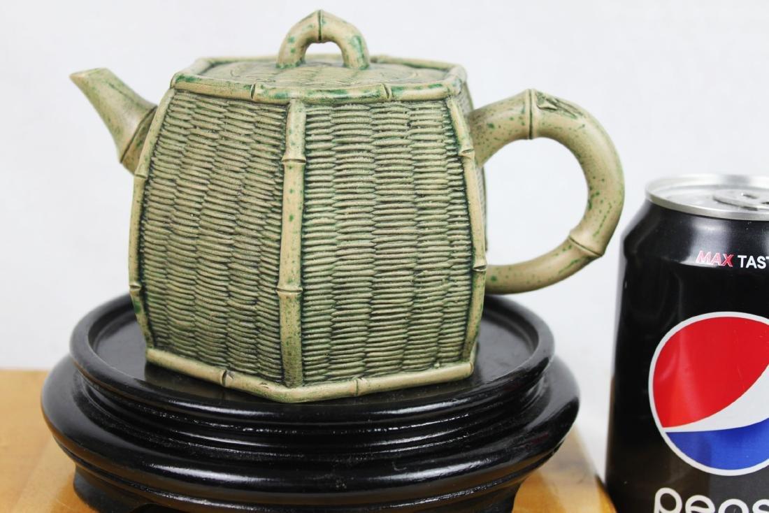 Chinese Yixing Zisha Teapot by Tao