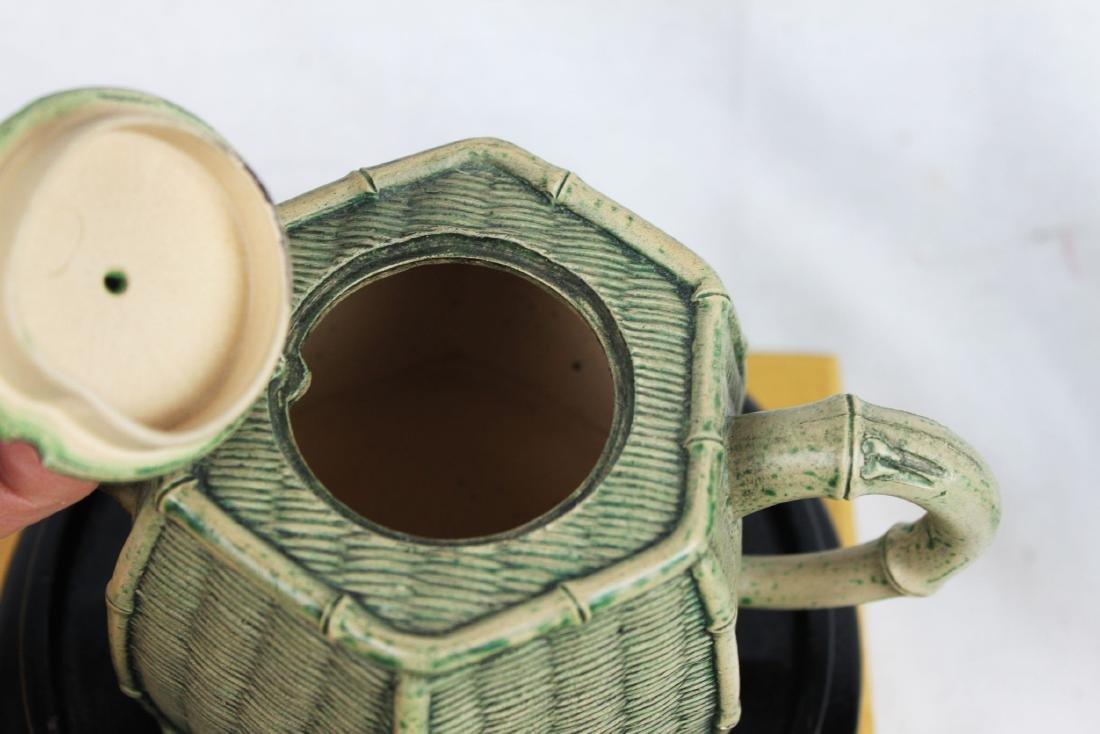 Chinese Yixing Zisha Teapot by Tao - 2