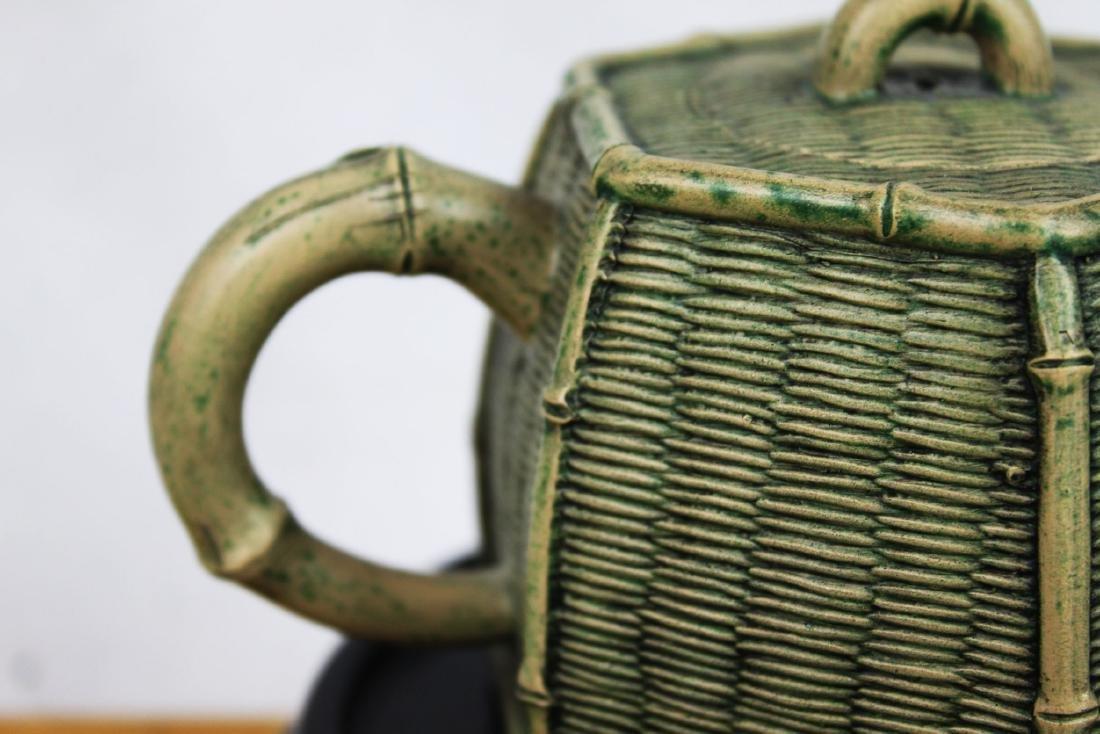 Chinese Yixing Zisha Teapot by Tao - 4