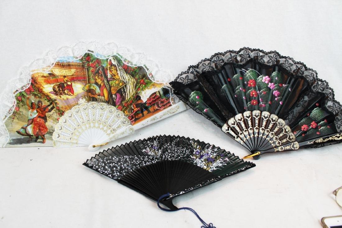 6 Folding Fans