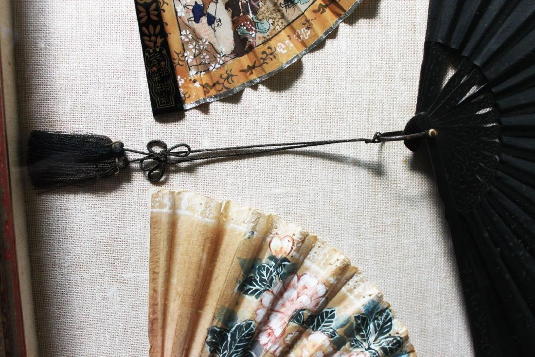 Antique Chinese Folding fans - 10