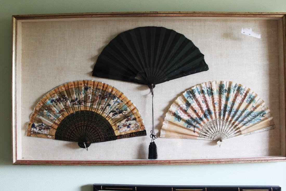 Antique Chinese Folding fans