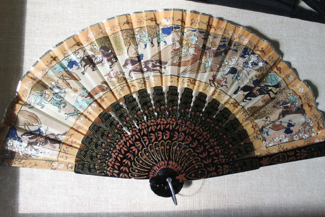 Antique Chinese Folding fans - 2