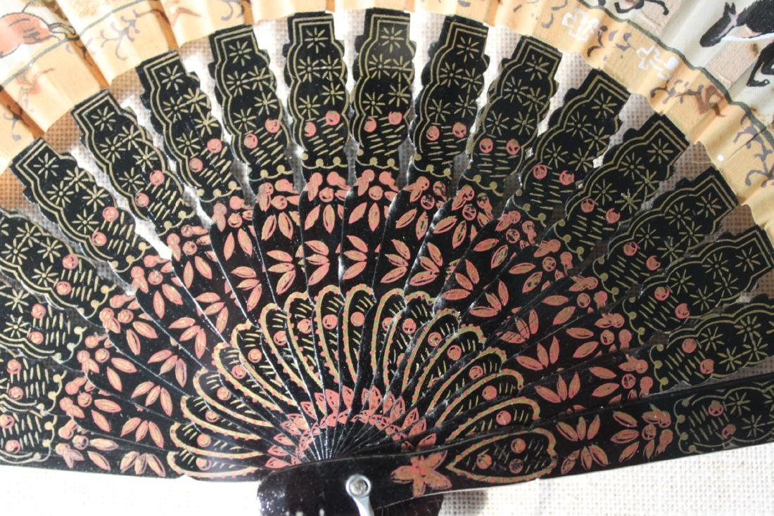 Antique Chinese Folding fans - 5