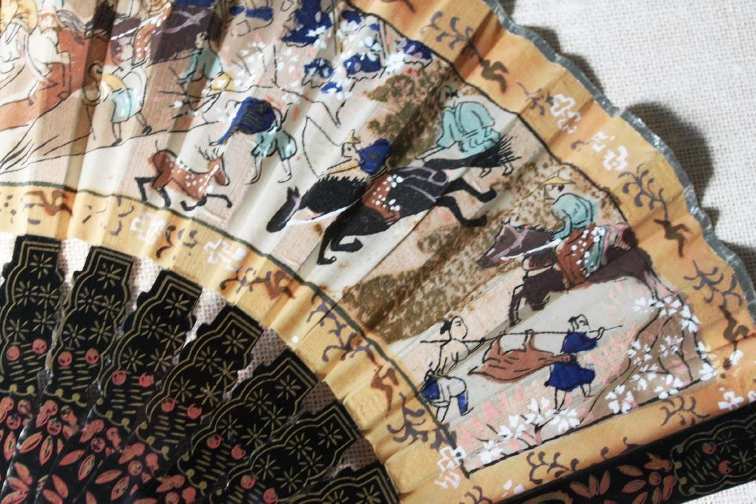 Antique Chinese Folding fans - 6